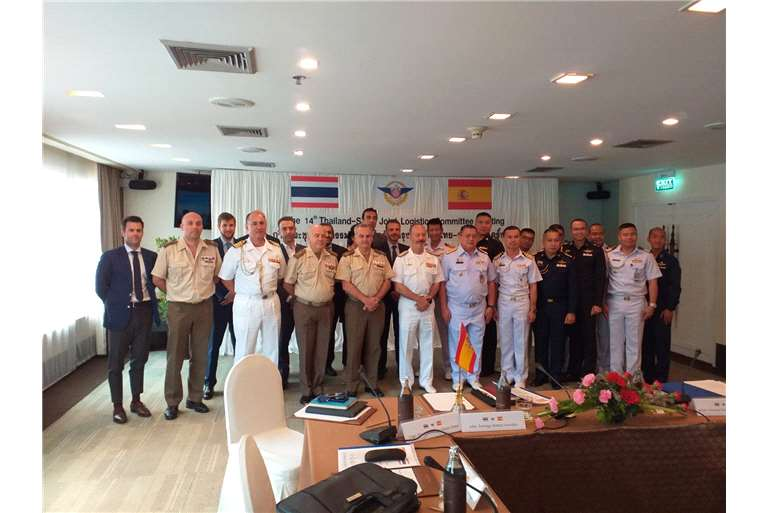 Hispano Vema  in Armed Forces Thailand-Spain Bilateral Meeting 2019