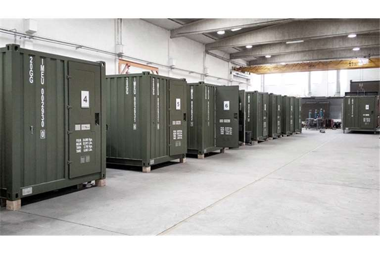 Defensa.com: Hispano Vema supplies  18 Ablution Containers to Spanish Army.