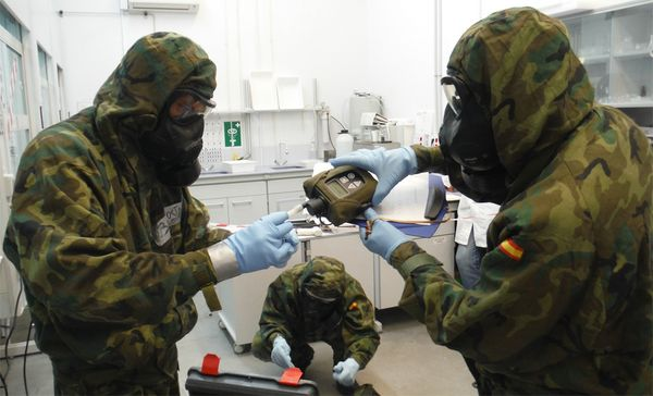 ANFORA tests capabilities of CBRN Defense Units