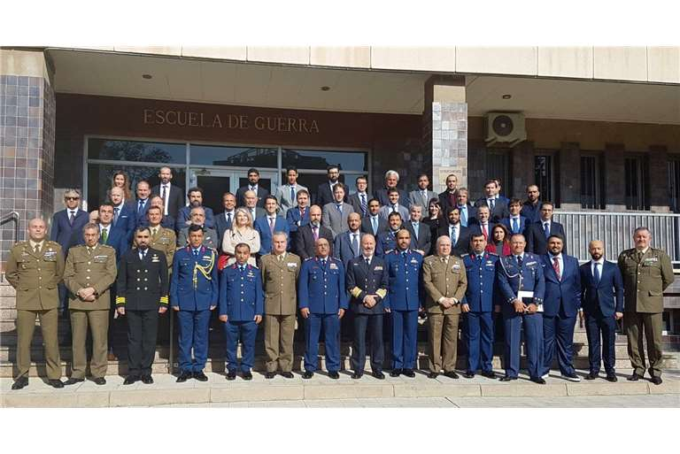Hispano Vema participates in Armed Forces UAE-Spain Bilateral Meeting 2020