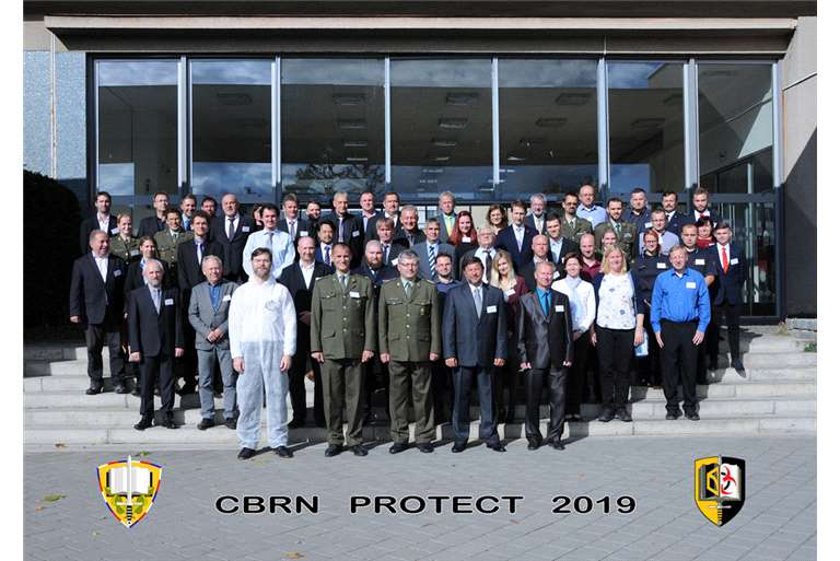 TEGISTIC e Hispano Vema participan en la Conferencia Internacional CBRN PROTECT 2019 de la Universidad de la Defensa de Brno