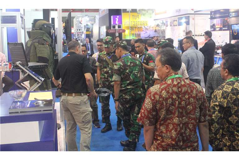 EOD TECHNOLOGY presents Hispano Vema CBRN Decontamination Solutions at INDODEFENCE 2018, Jakarta, Indonesia