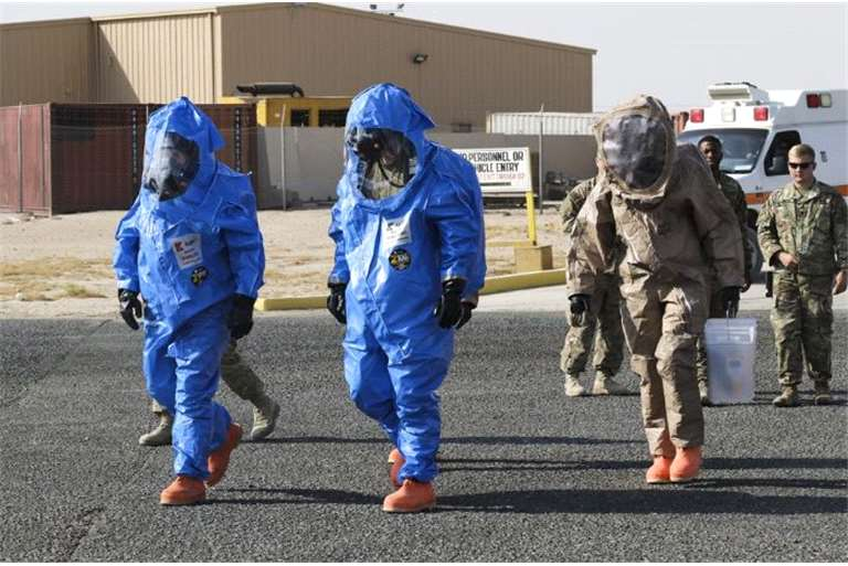 CBRN Joint Exercises for maintain high level of operational readiness