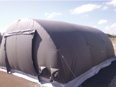 CBRN COLLECTIVE PROTECTION INFLATABLE TENTS & CBRN COLLECTIVE PROTECTION INFLATABLE TENTS - HISPANO VEMA