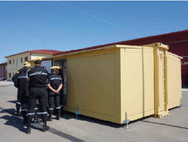 CBRN COLLECTIVE PROTECTION IN CONTAINER