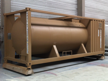 ISO CONTAINER DIESEL OIL FUEL TANK HISPANO VEMA