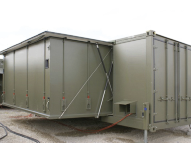 TURNKEY FIELD HOSPITAL IN CONTAINER