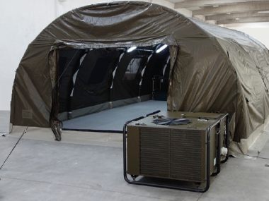 CLIMATE CONTROL SYSTEM FOR TENTS: CLIMABOX