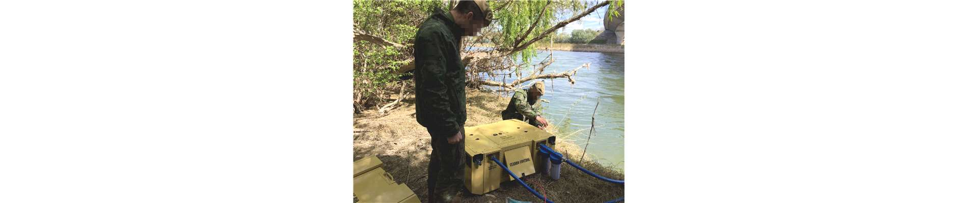 HYDROS Mobile watermaker sustainable river Army